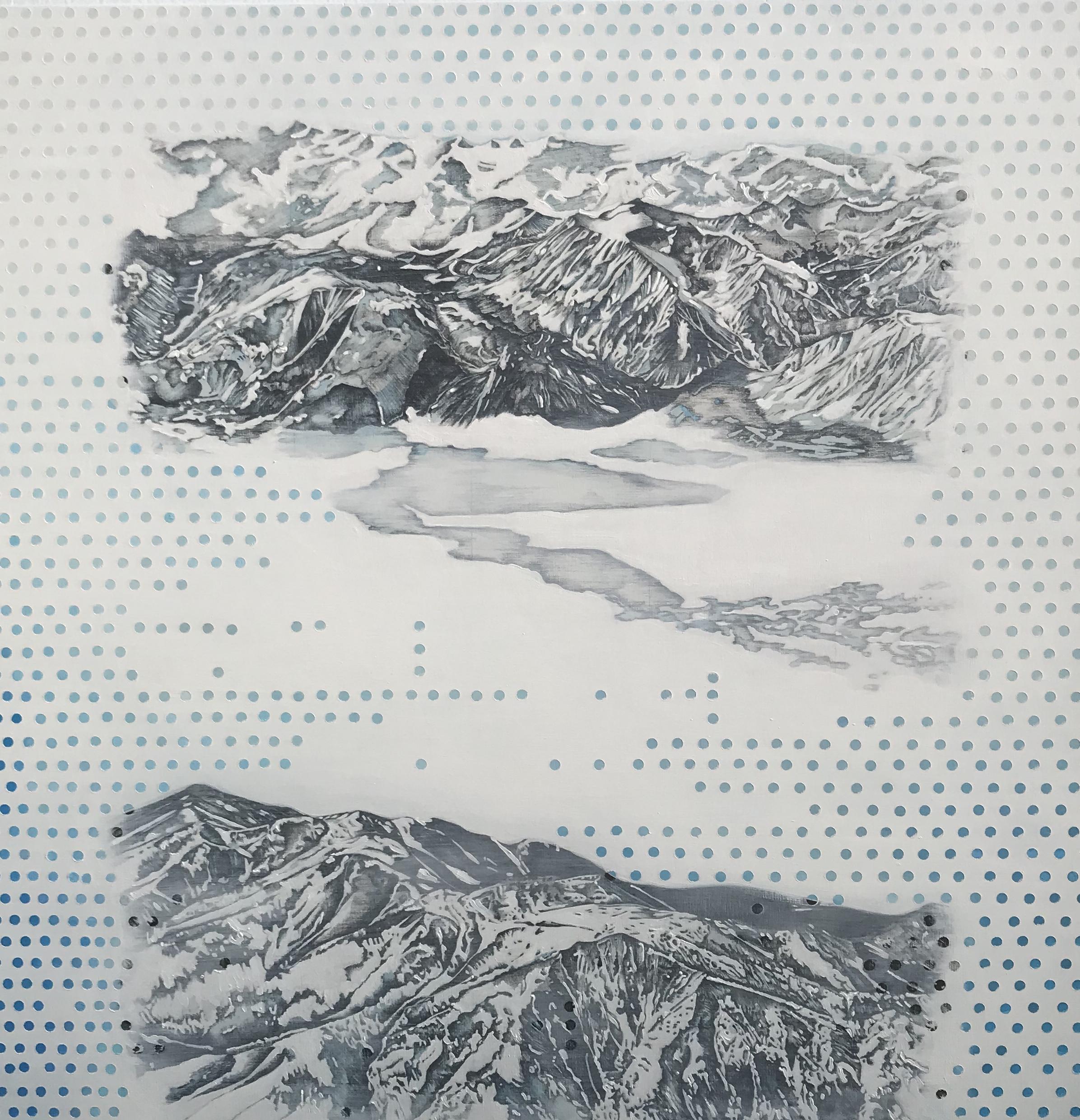 Polka Dot Mountain Range by Kiki Gaffney