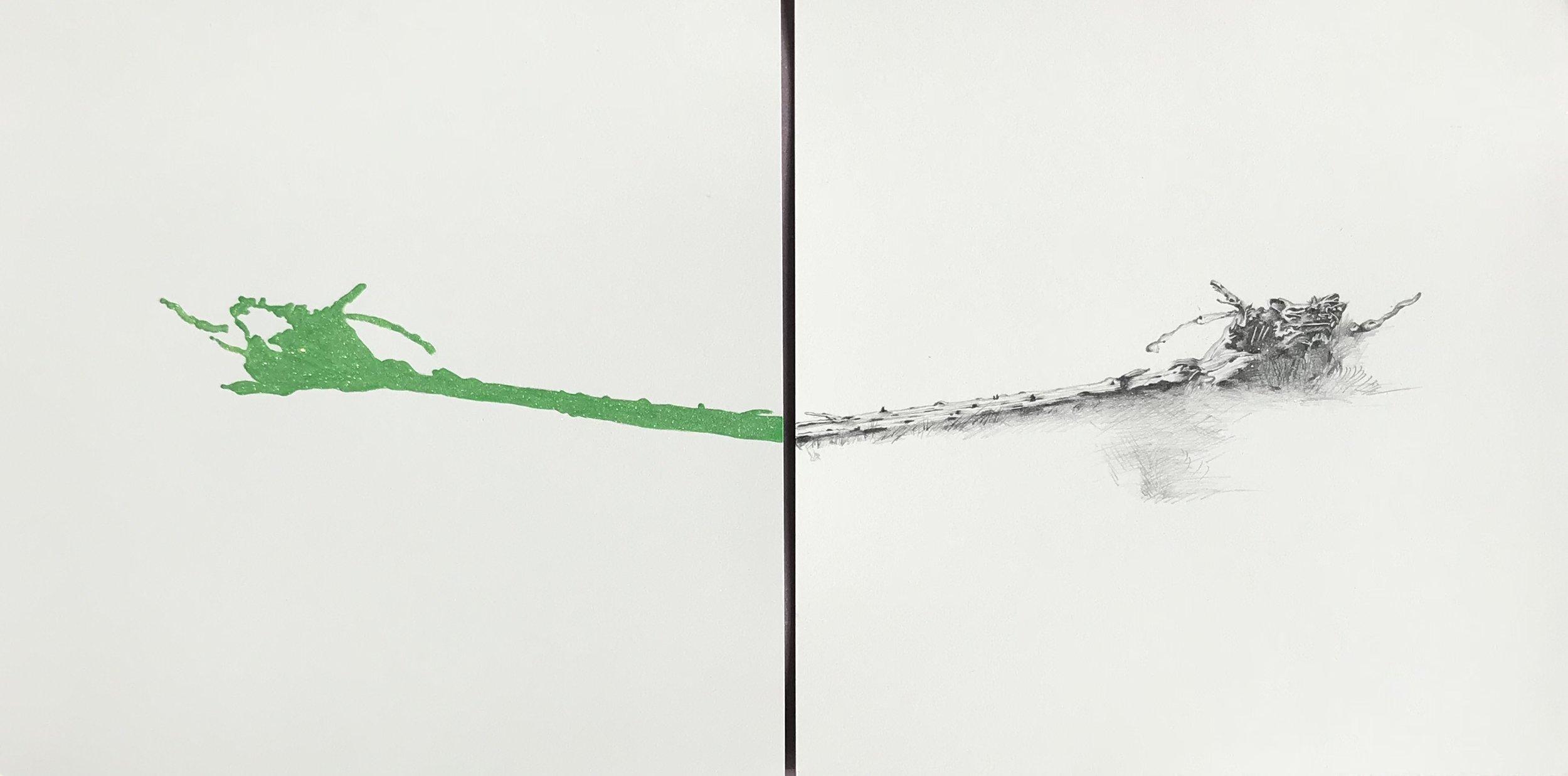 Green Cottonwood by Kiki Gaffney