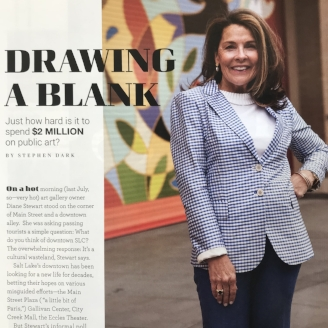 Salt Lake Magazine Modern West Fine Art Diane Stewart