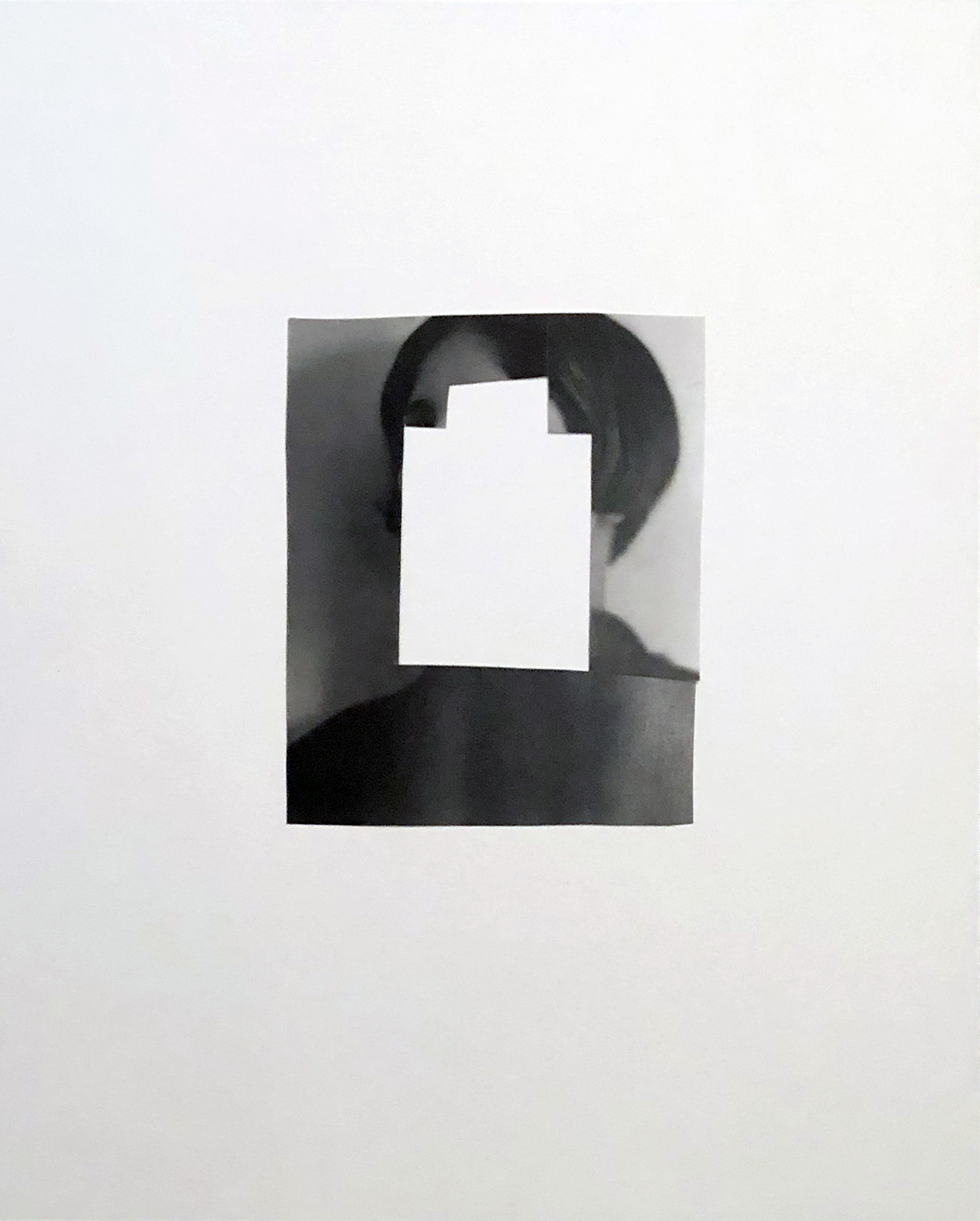 Shalee Cooper    Feminine   collage, 20 x 16 in.