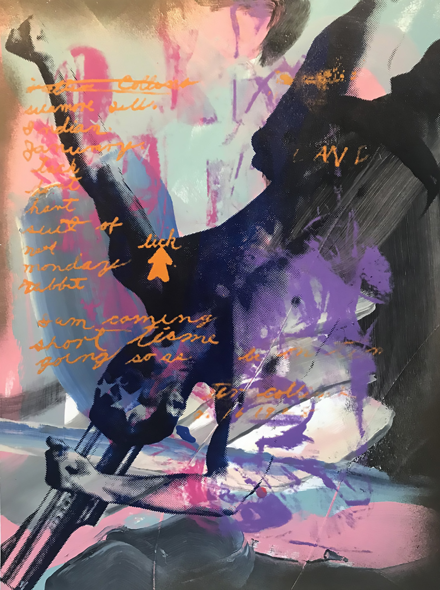 John Bell    New Paintings For Old Problems   acrylic on paper, 19 x 24 in.