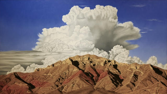 """""""Thunderbird Mountain Storm"""" 22"""" x 36"""" signed and numbered limited edition. (Limited to 25) Giclée, $470 includes $20 shipping."""