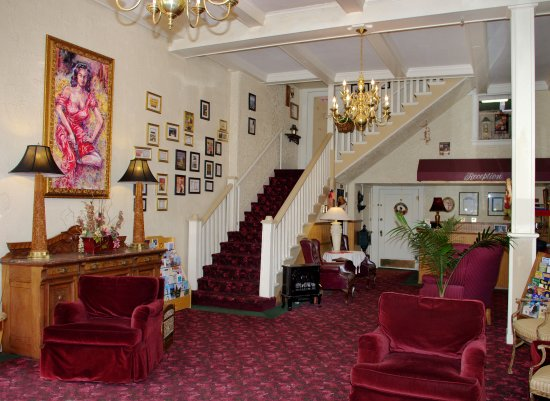 Lobby of Palace Hotel, Silver City, NM