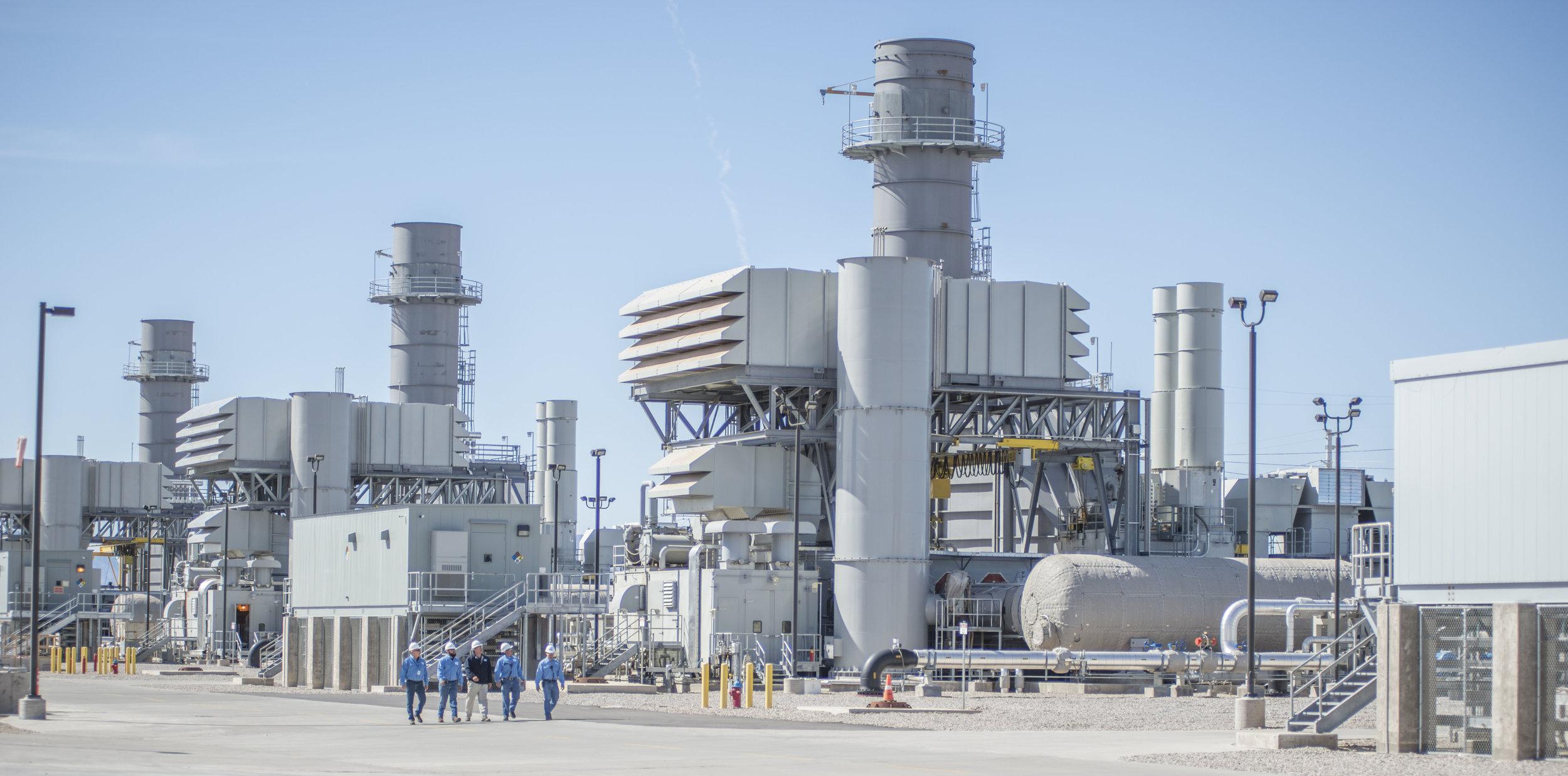 El Paso Electric's East Montana Power Plant