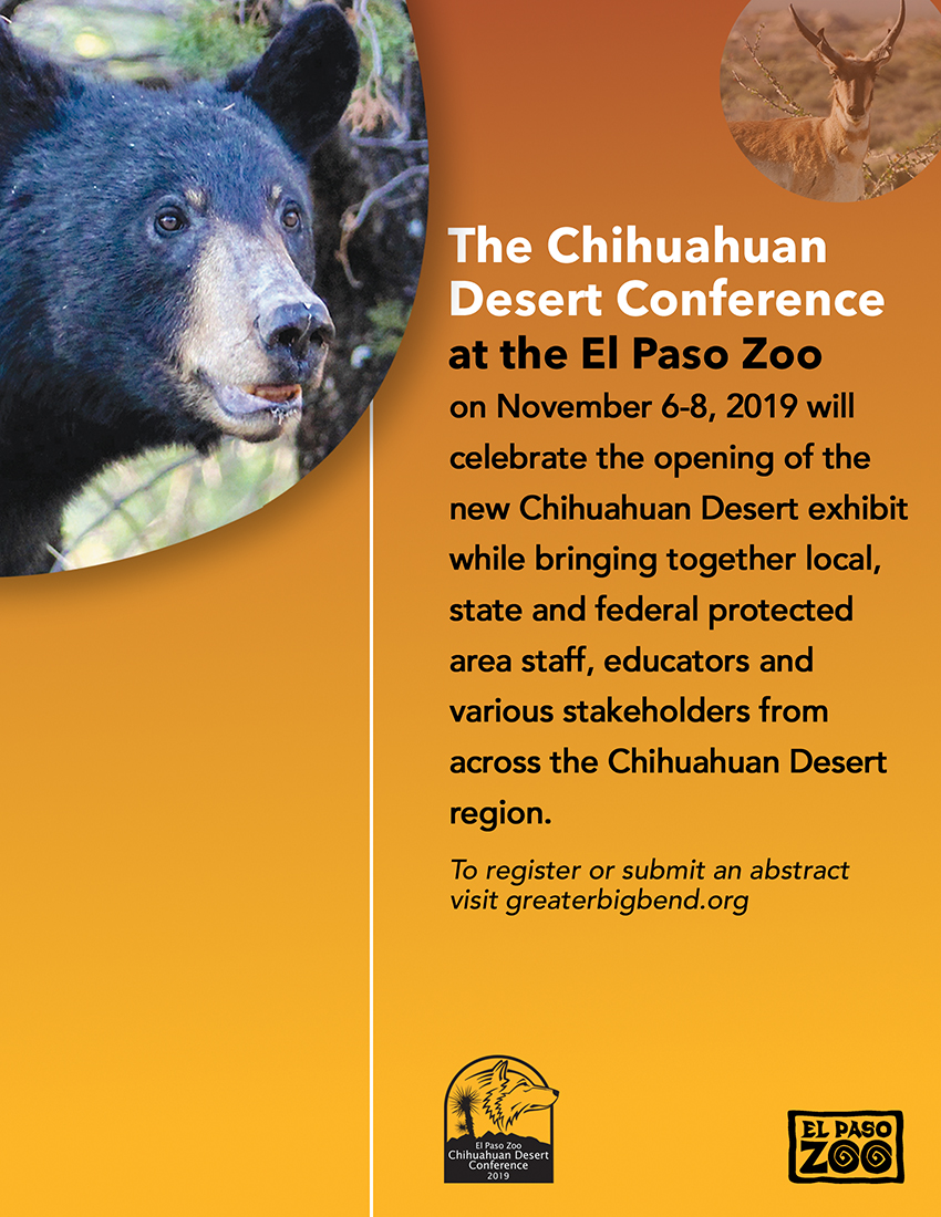 Nov 6 to 8 Chihuahuan Desert Conference at El Paso Zoo .jpg