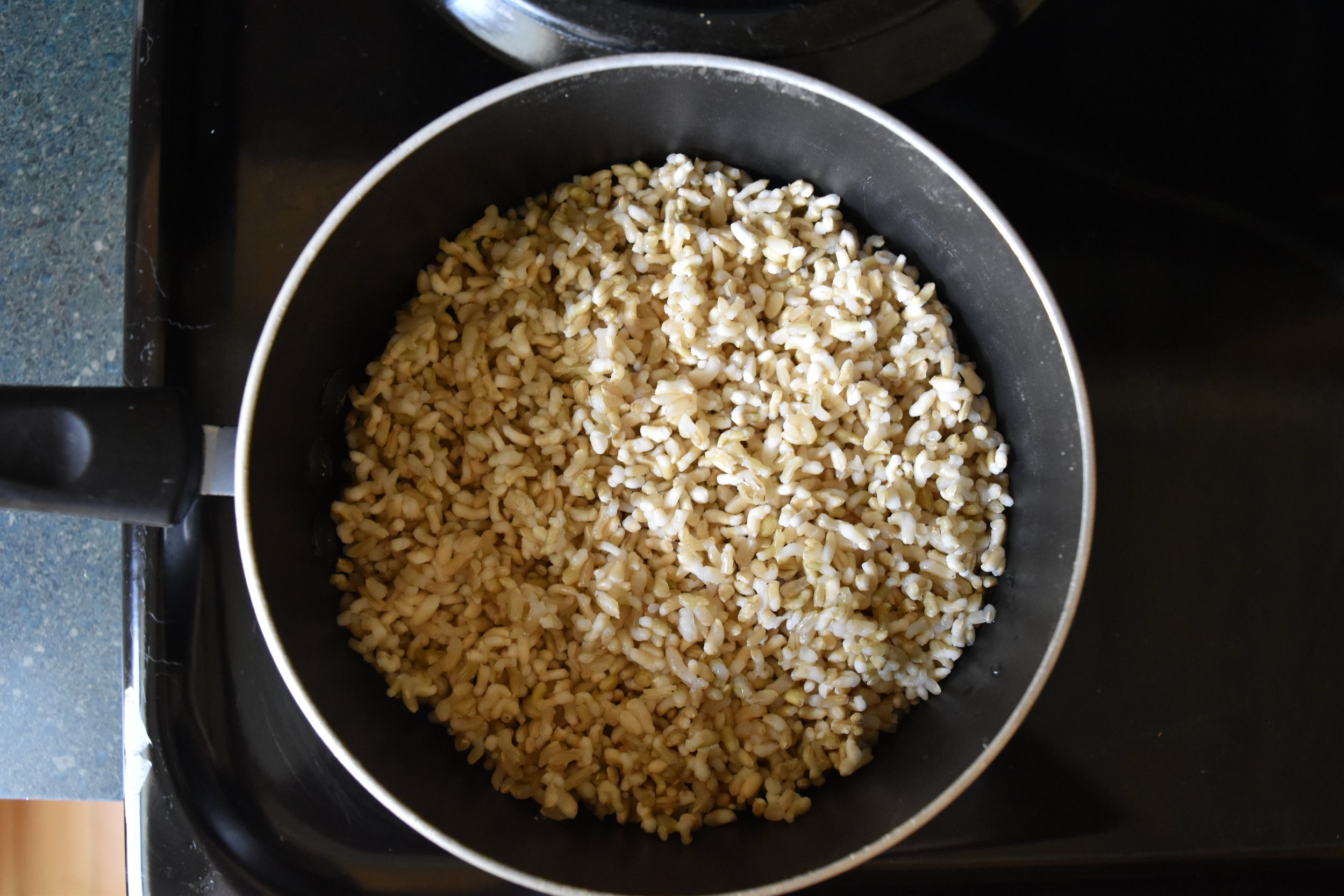 Frozen, cooked rice is such a time-saver and tastes so delicious.