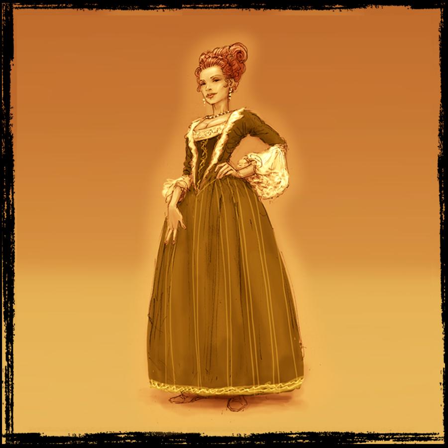 La Reina. La Bruja. La Amante secreta de Valdivia. Su sufrimiento se esconde tras su fuerza.