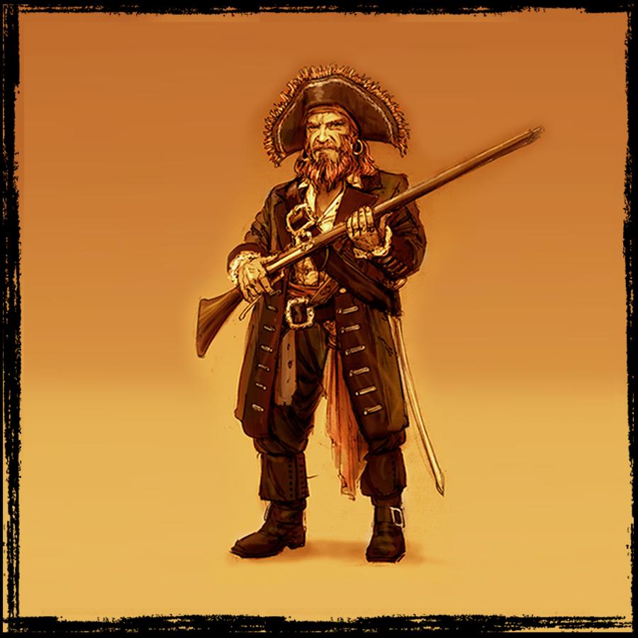 El Mercenario.  Cruzará los mares del sur con un secreto que sembrará el terror a todos los que lo rodean.