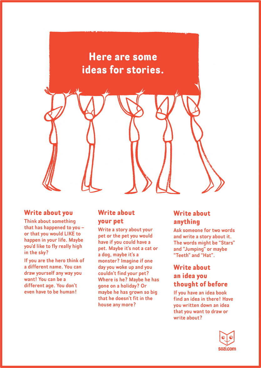Sozi ideas for stories