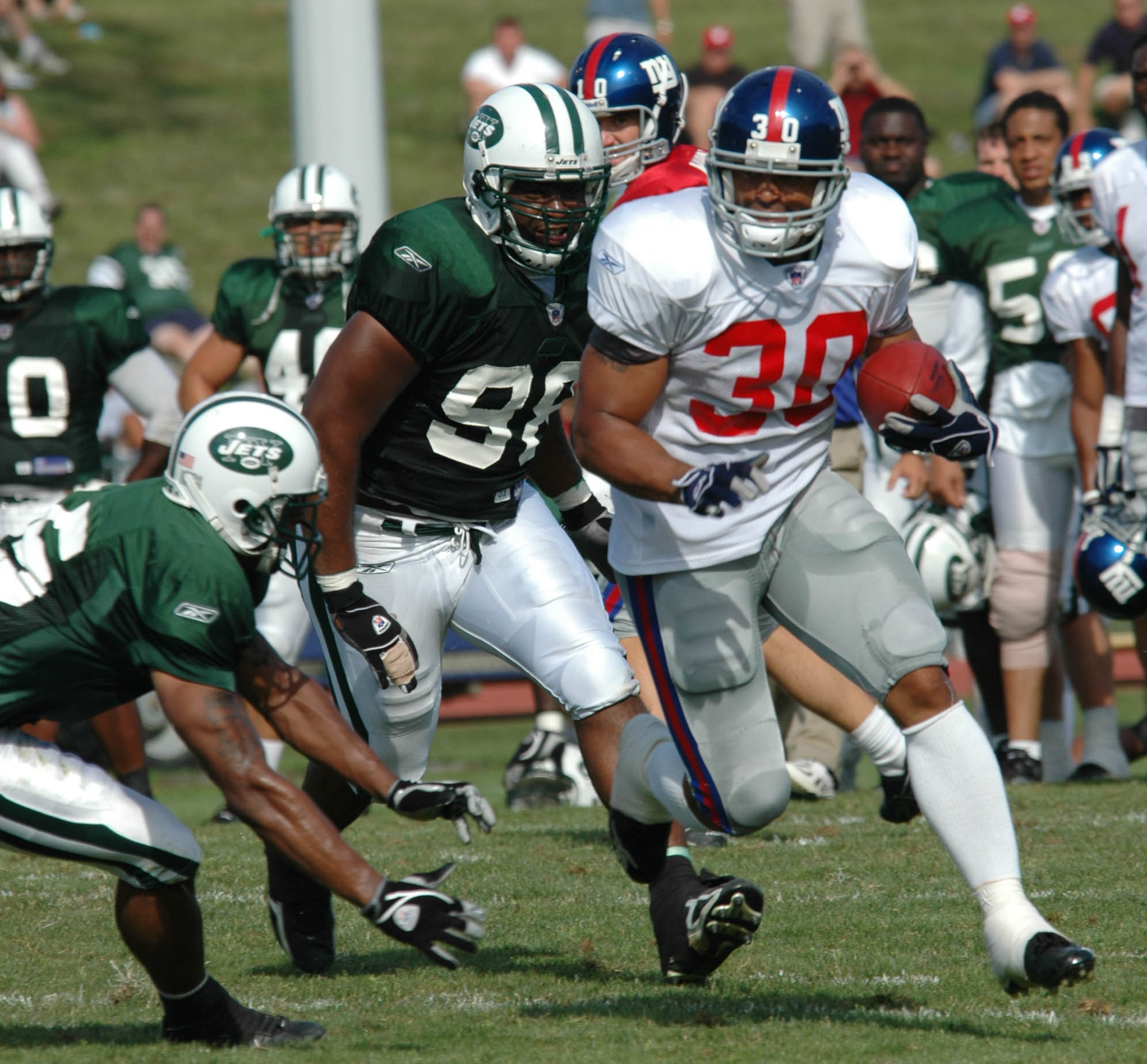 12 New Giants and New Jets Training Camp 2005.jpg