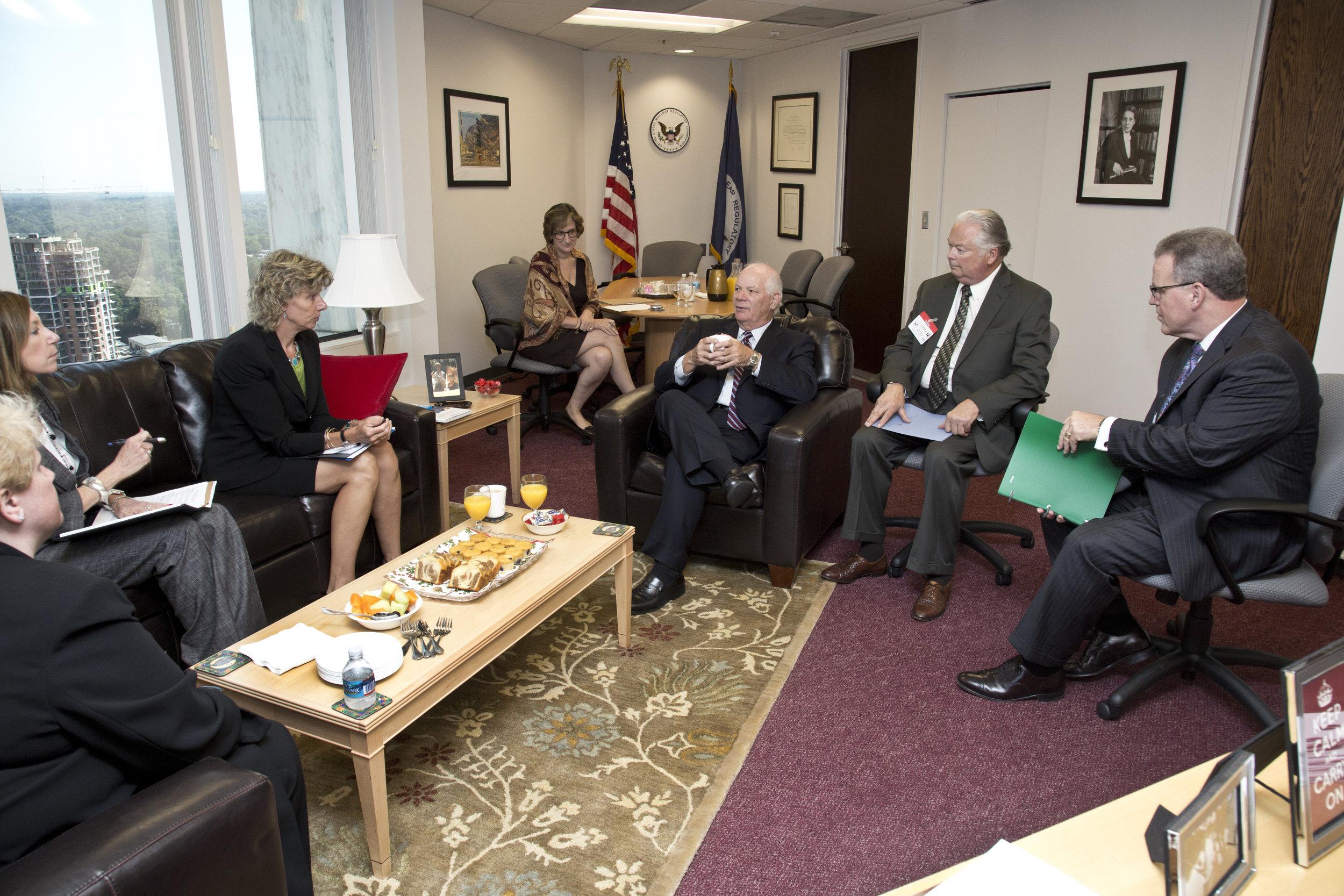 2013 08 United States Senator Ben Cardin Visits the NRC03108262013.jpg