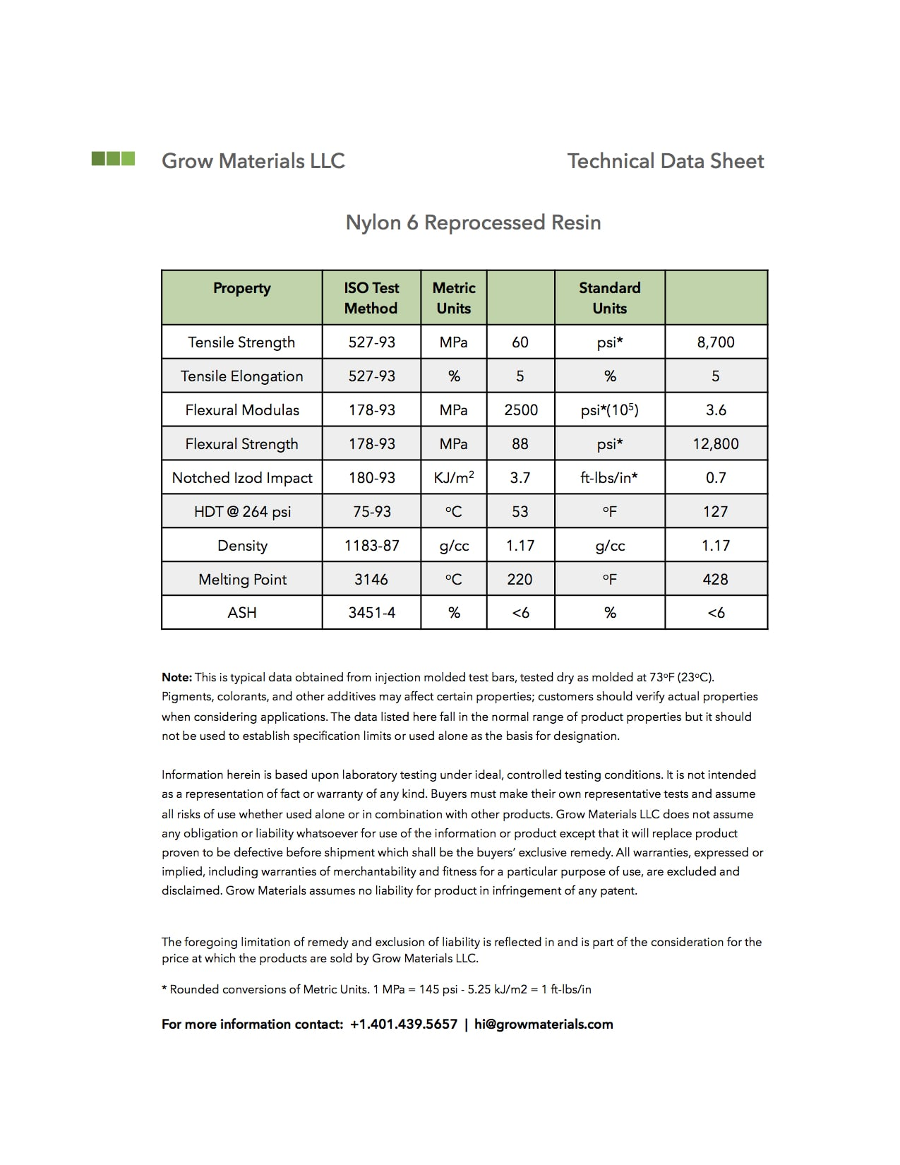 Grow Materials TDS-Nylon 6 PCR.jpg