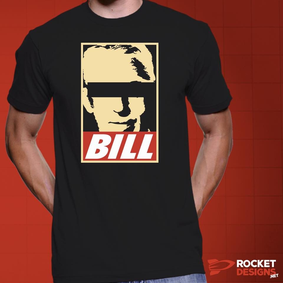 """""""Obey Bill W."""" T by Rocket Designs. Click image to purchase."""