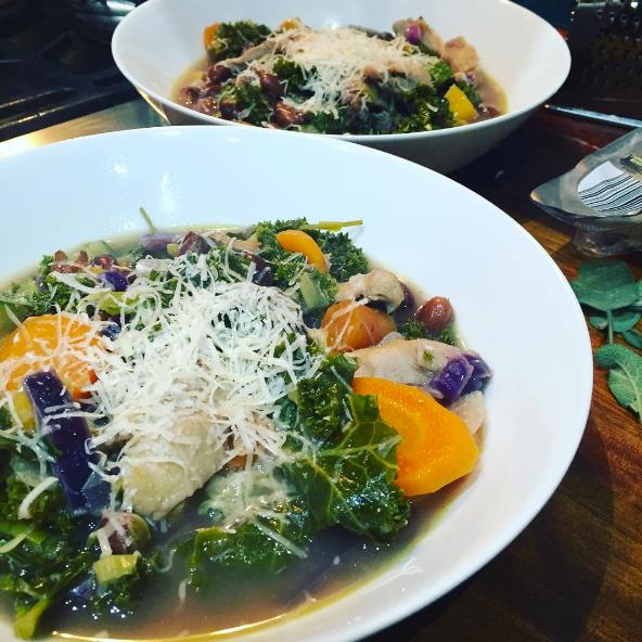 Itallian-style Chicken Soup