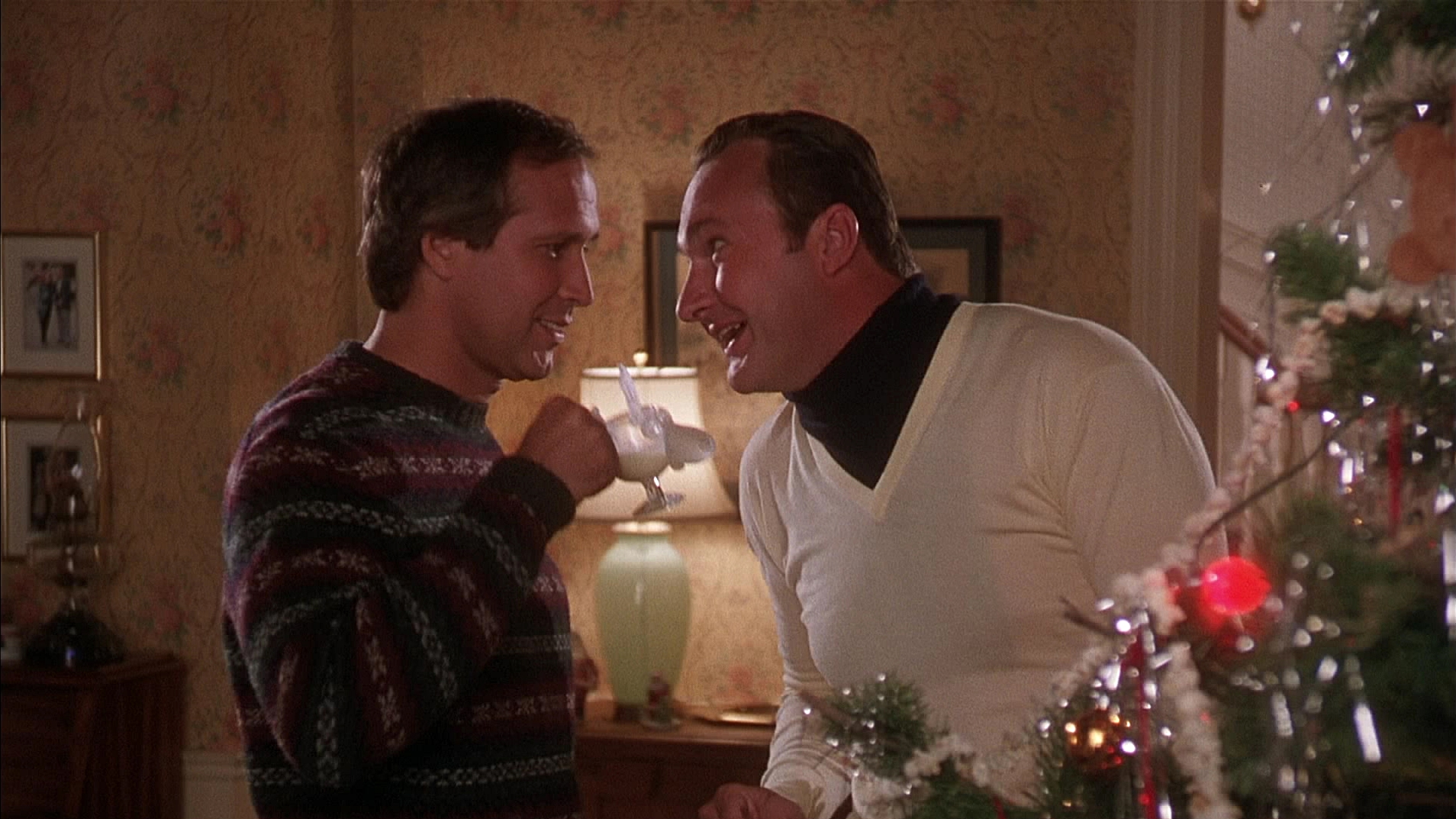 Chevy Chase & Randy Quaid /  National Lampoon's Christmas Vacation  / 1989 / Warner Bros.