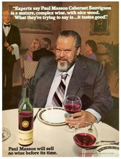 Yes, this red wine drinker looks the very picture of good health.