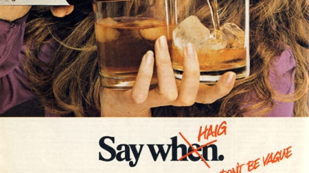 Vintage Haig Scotch ad.