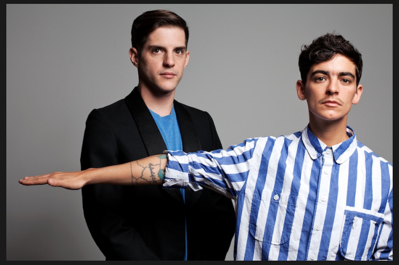 JD Samson + Men / Photo by Allison Michael Orenstein