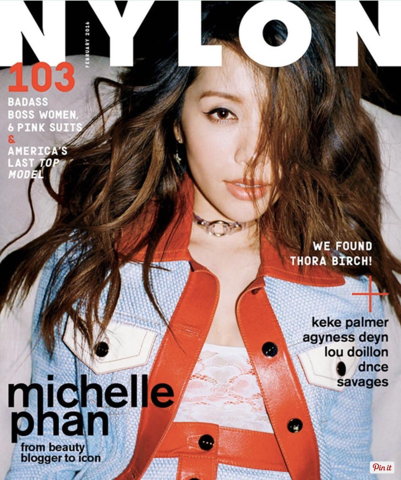 NYLON FEBRUARY 2016 MICHELLE PHAN COVER STORY