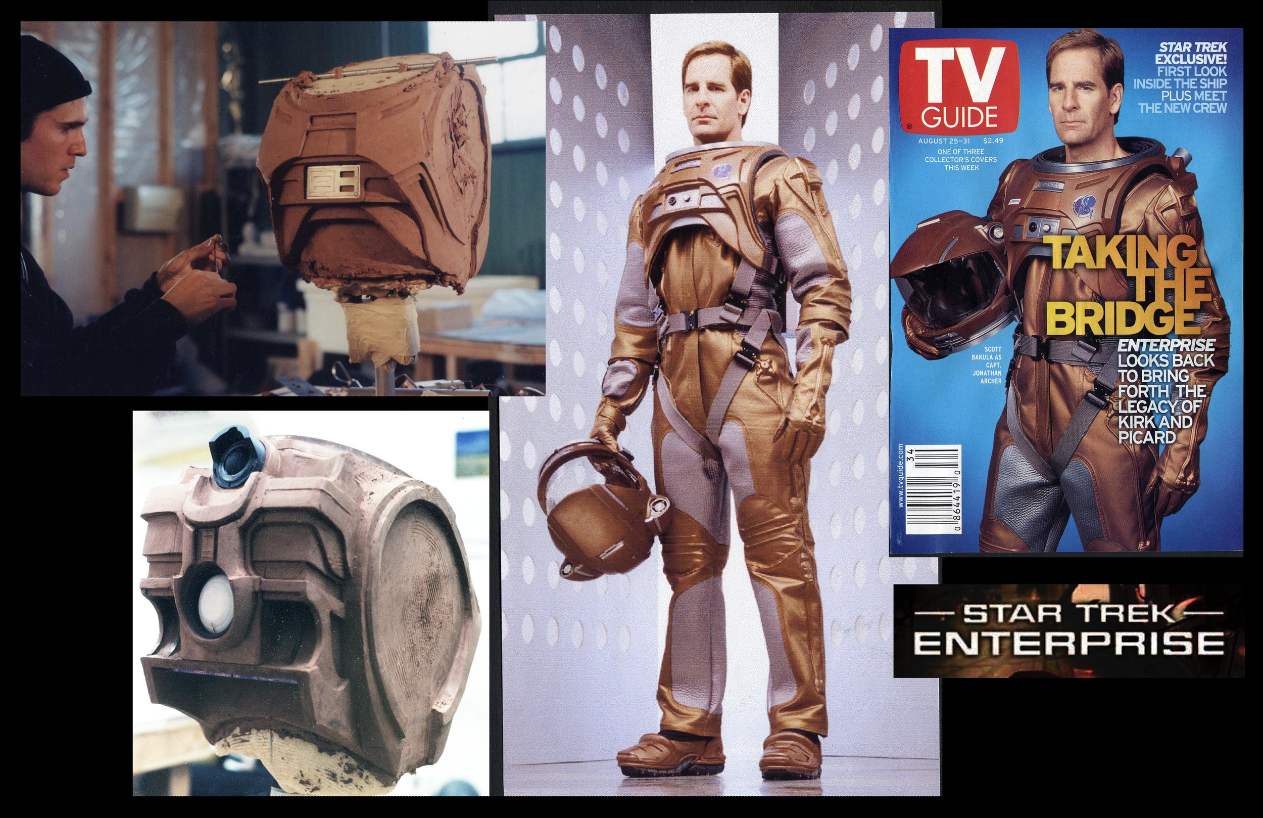 Sculptor for space suits |  Star Trek Enterprise | NEOTEK
