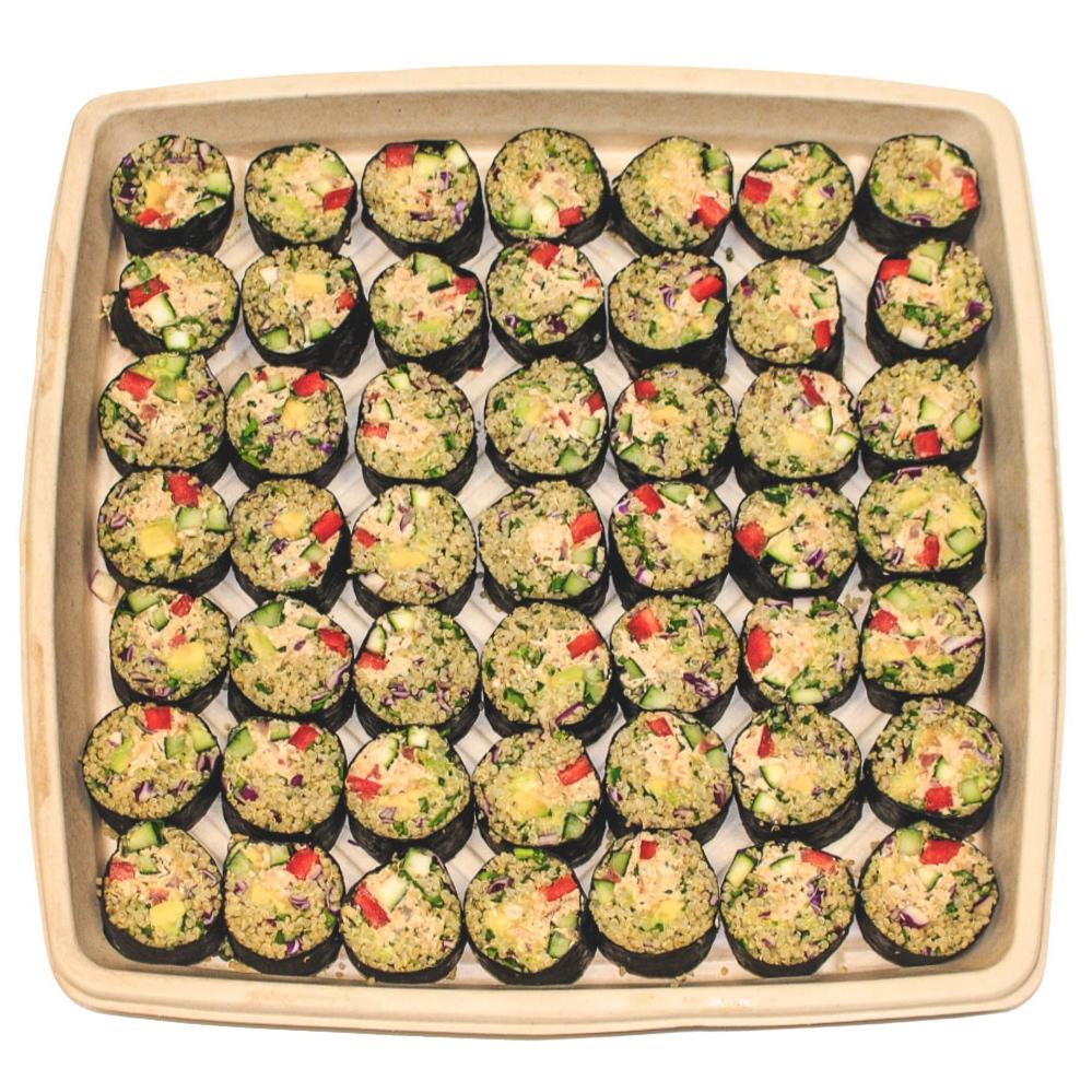 Spicy Suntuna SushiPlatter - $70 / $958–10 servings / 12–15 servings