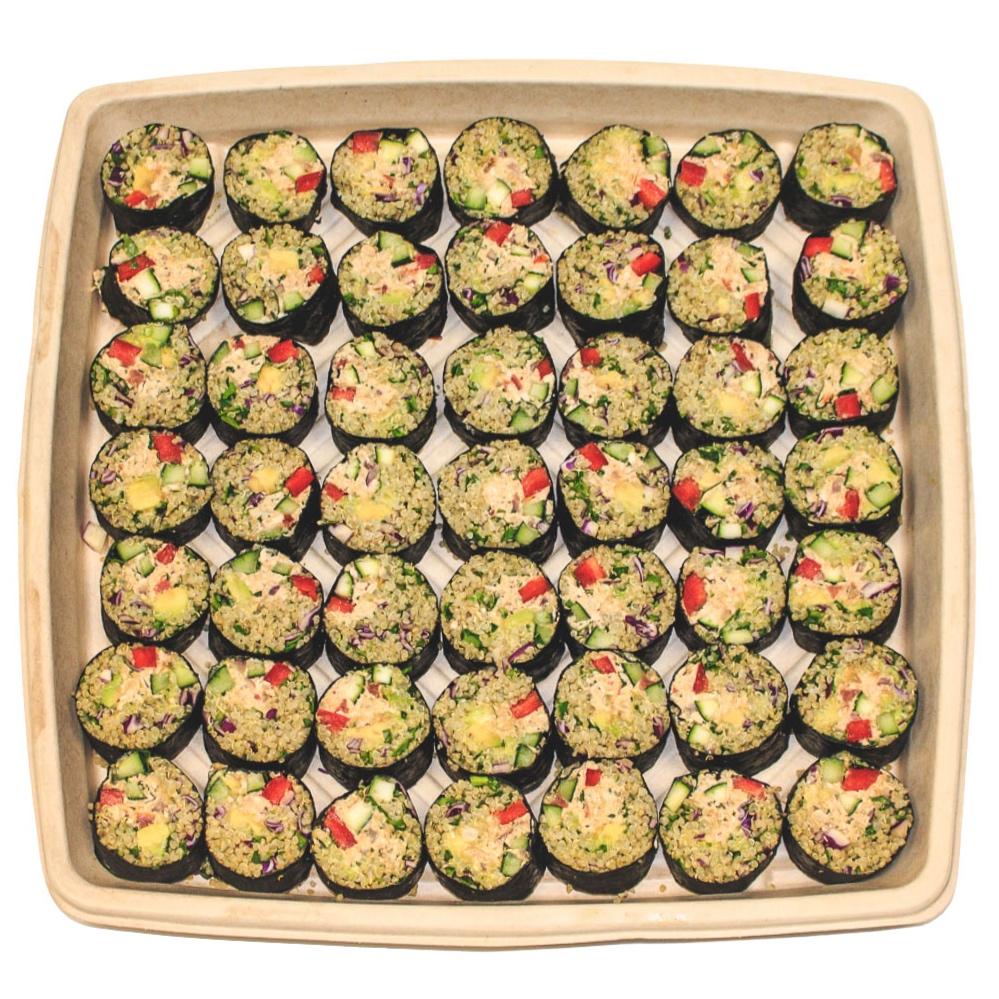 Spicy Suntuna Sushi Platter - $70 / $958–10 servings / 12–15 servings
