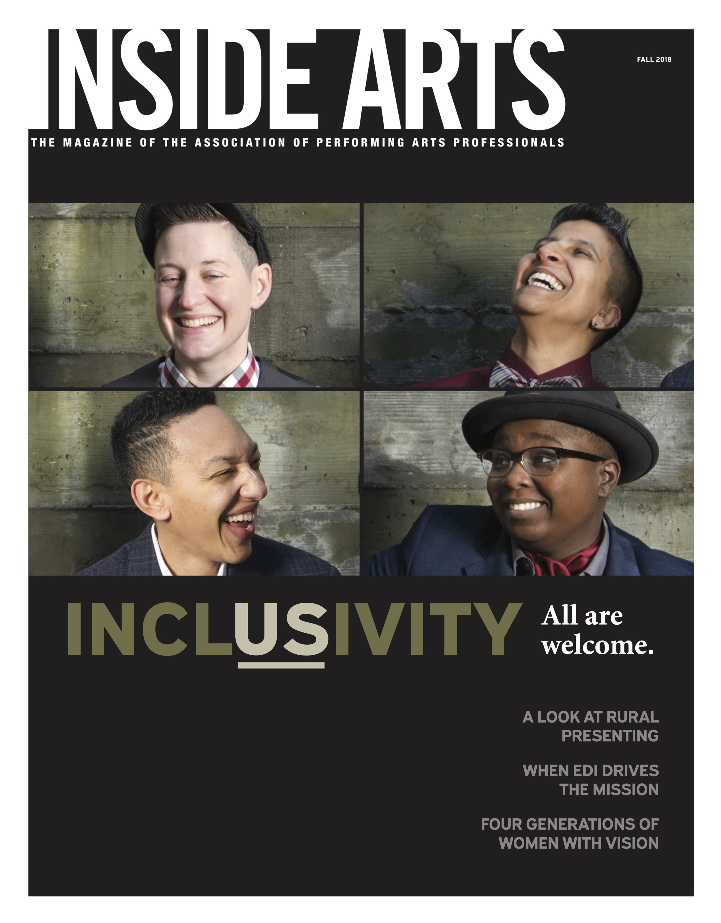 COVER FEATURE IN APAP MAGAZINE -