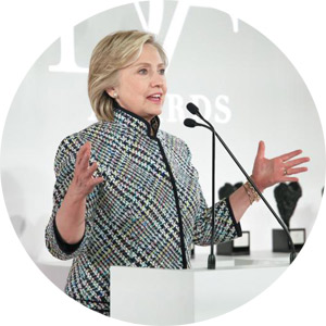 """""""Becky and Jody, your innovative spirit is something we should honor everyday, in every community.""""     -Hillary Clinton   The DVF Awards"""