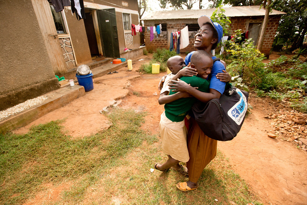 When Grace was suddenly widowed, she was terrified about how her family would survive. She applied to become a Community Health Promoter. In the three years since, she's treated over 300 children in her village with malaria. Thanks to her income, her children have survived and thrived.