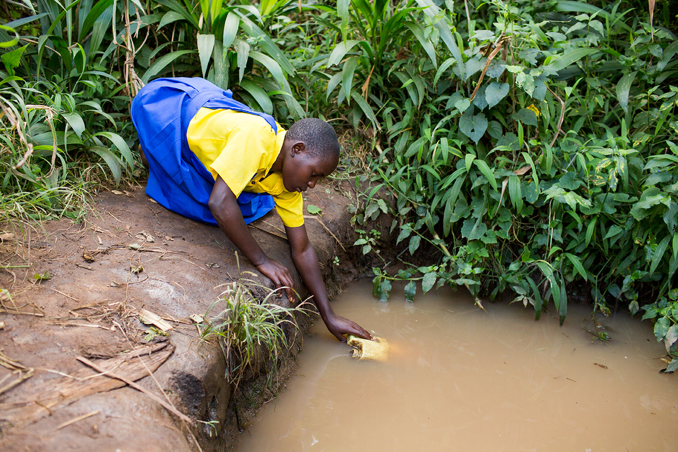 <p><strong>Water</strong>Fixing wells to keep water flowing.<a href=/water>Learn More →</a></p>