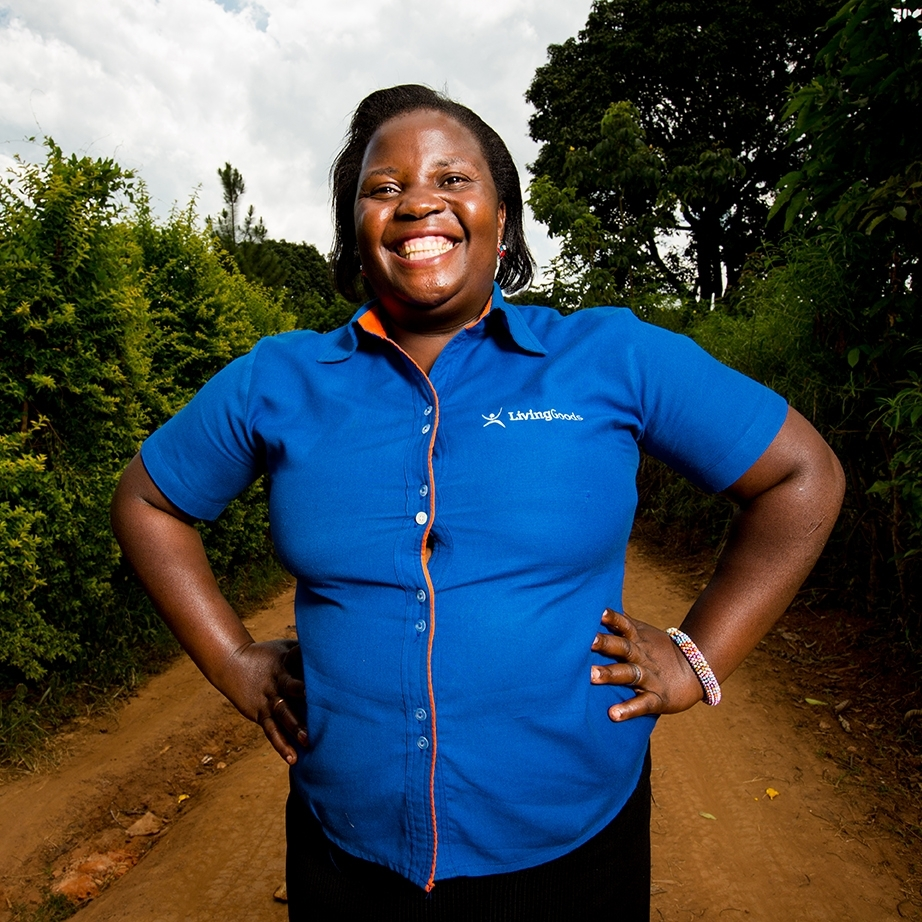 Rosemary works as a health care branch manager for Living Goods in Uganda