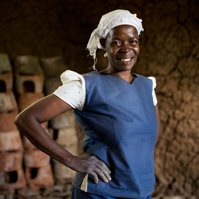 Hi, I'm Beatrice - With your support, I'll be able to access a loan to grow my business. I'm hoping to earn enough income to send my kids to school!