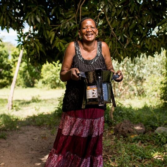 Hi, I'm Rahel - I love supporting my community through my cookstove business! With your support, I'll be able to expand my operations and learn transformational marketing skills.