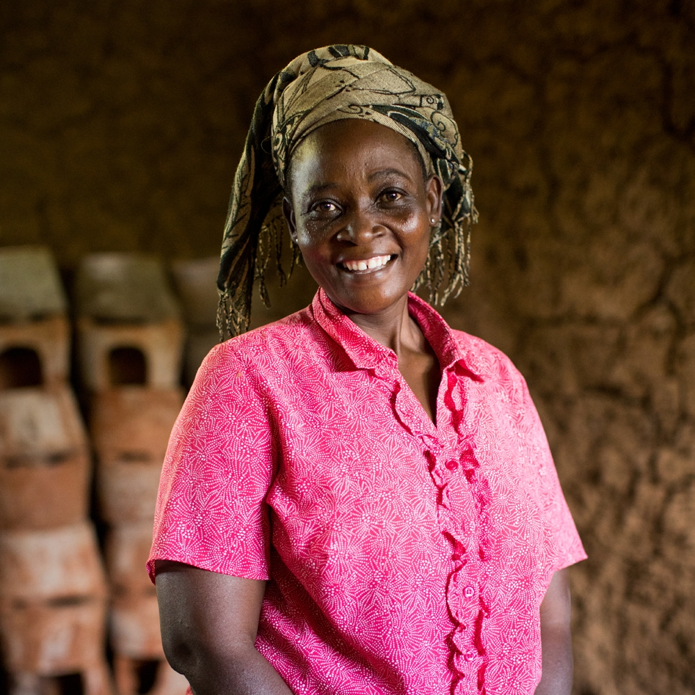 Hi, I'm Rahema - I saved for years to start my own cookstove business so I can send all my granddaughters to high school. With your support, I will learn how to market my stoves so they are the most popular on the market.