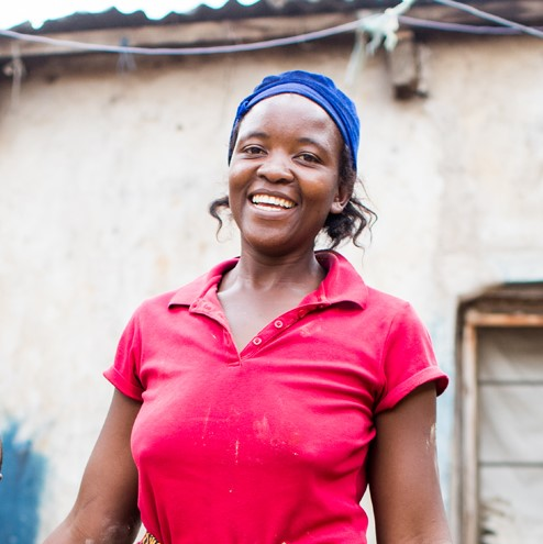Hi, I'm Sarah - I sell energy-efficient stoves because I want to help my neighbors be safer and healthier. Your support will help not just me but my whole community.