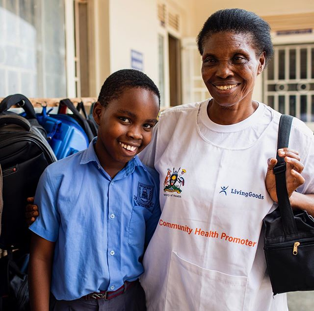 The best back-to-school update, folks! 🏫 🍎 Because of Joy's job, she is proud she can afford to send her grandson to private school. ... Thank you for giving others the joy that comes from helping a grandchild succeed. Good jobs bring brighter futures. ... 📸 by @estherhavens #backtoschool