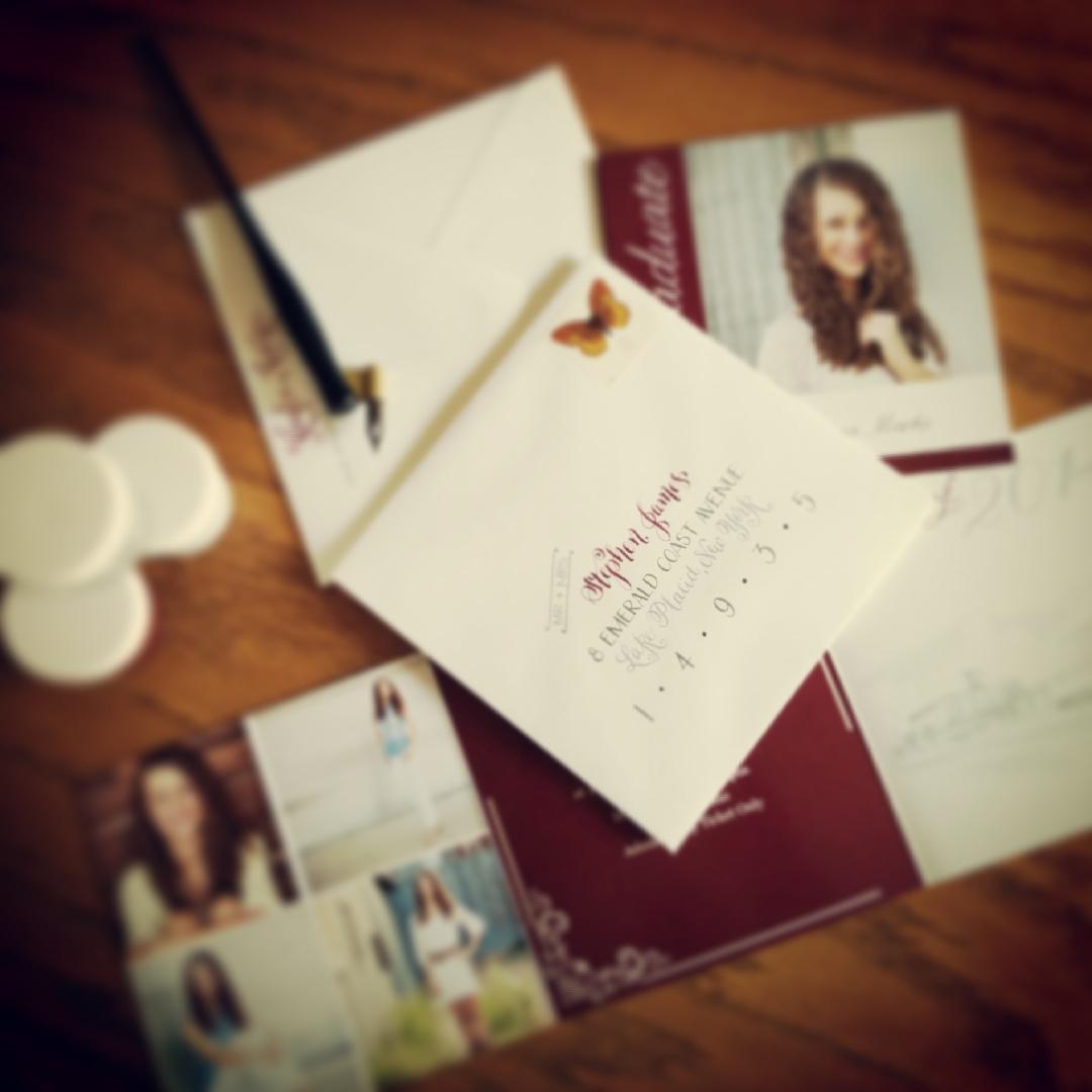 calligraphy-envelope-barcelona-maroon-gray-ink-on-white.jpg