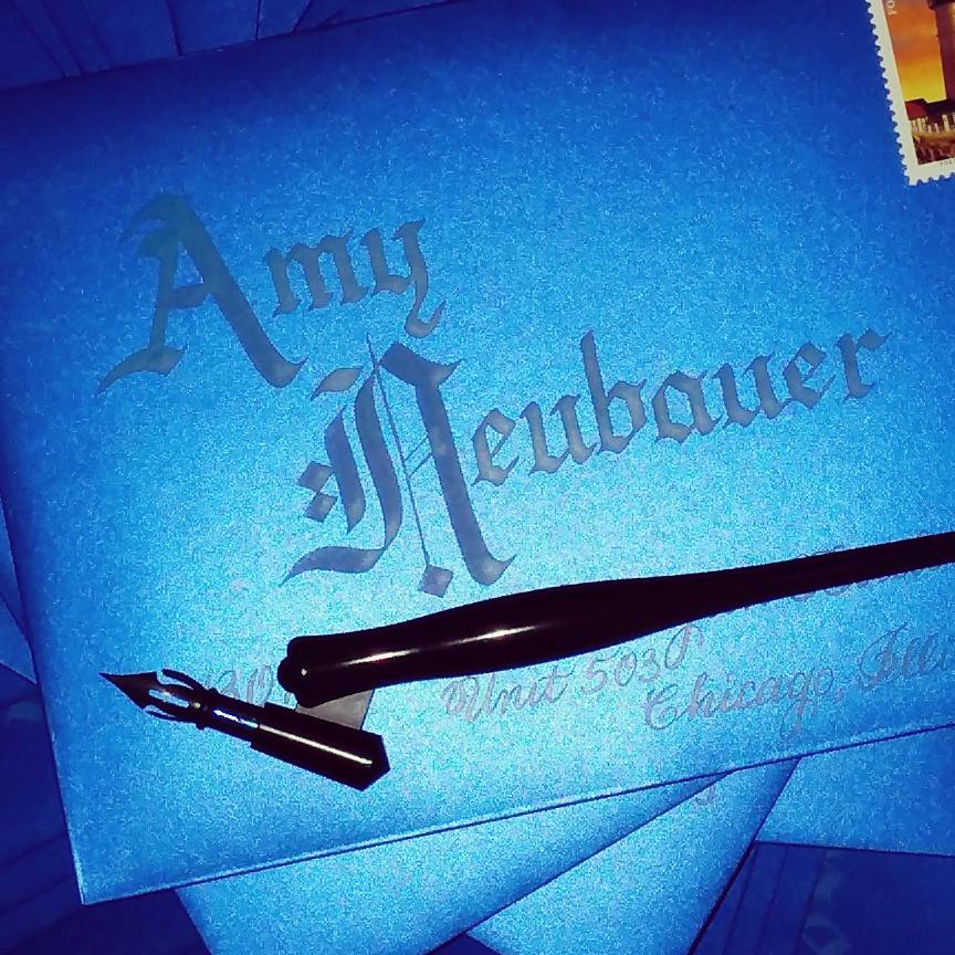 calligraphy-envelope-glasgow-turquoise-ink-on-metallic-cobalt-blue-closeup.jpg