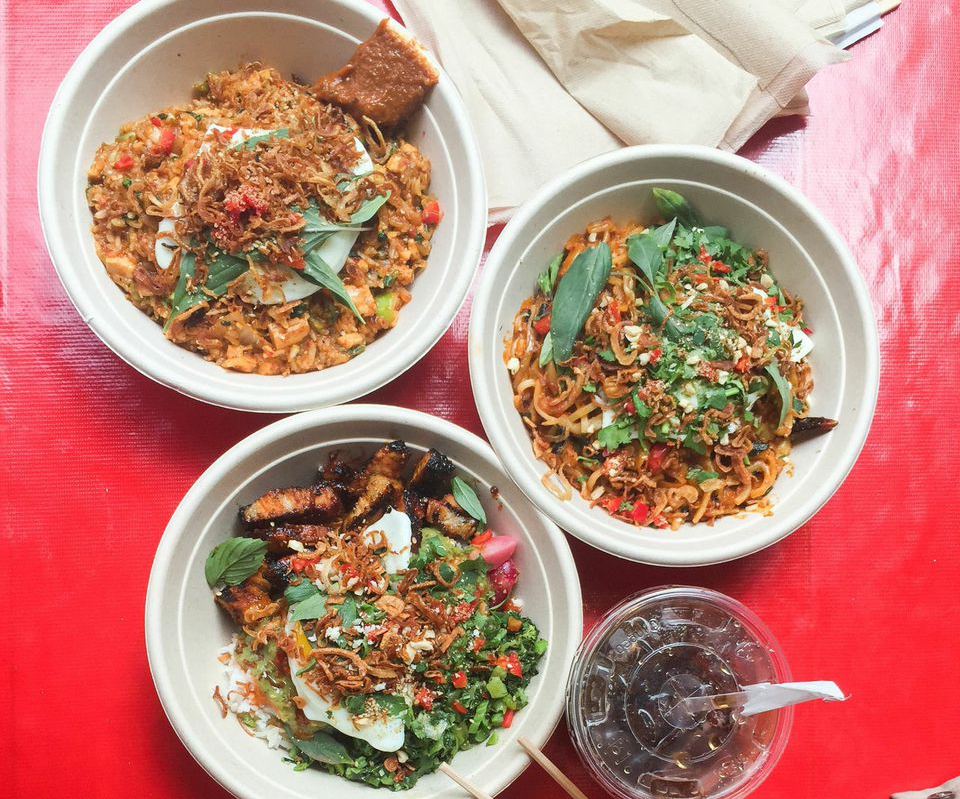 Delicious noodle and rice bowls from Chego!