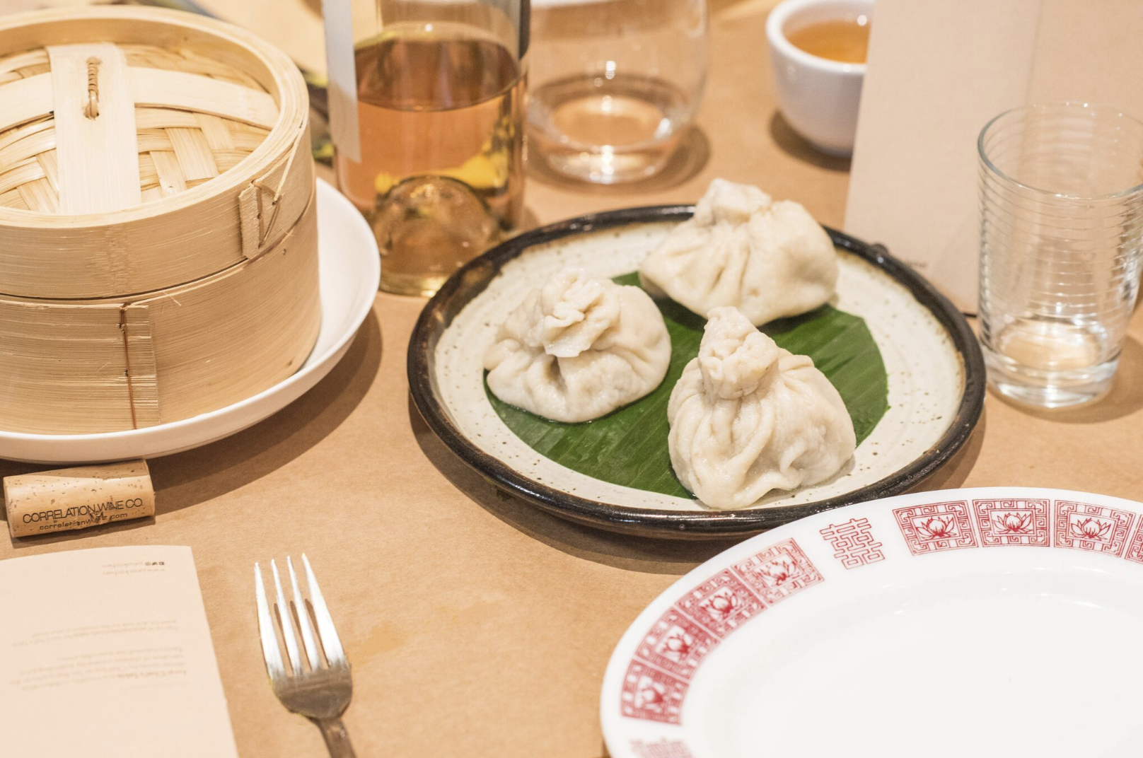 Our third course featured three types of dumplings, inspired by spices and flavors along the silk road.