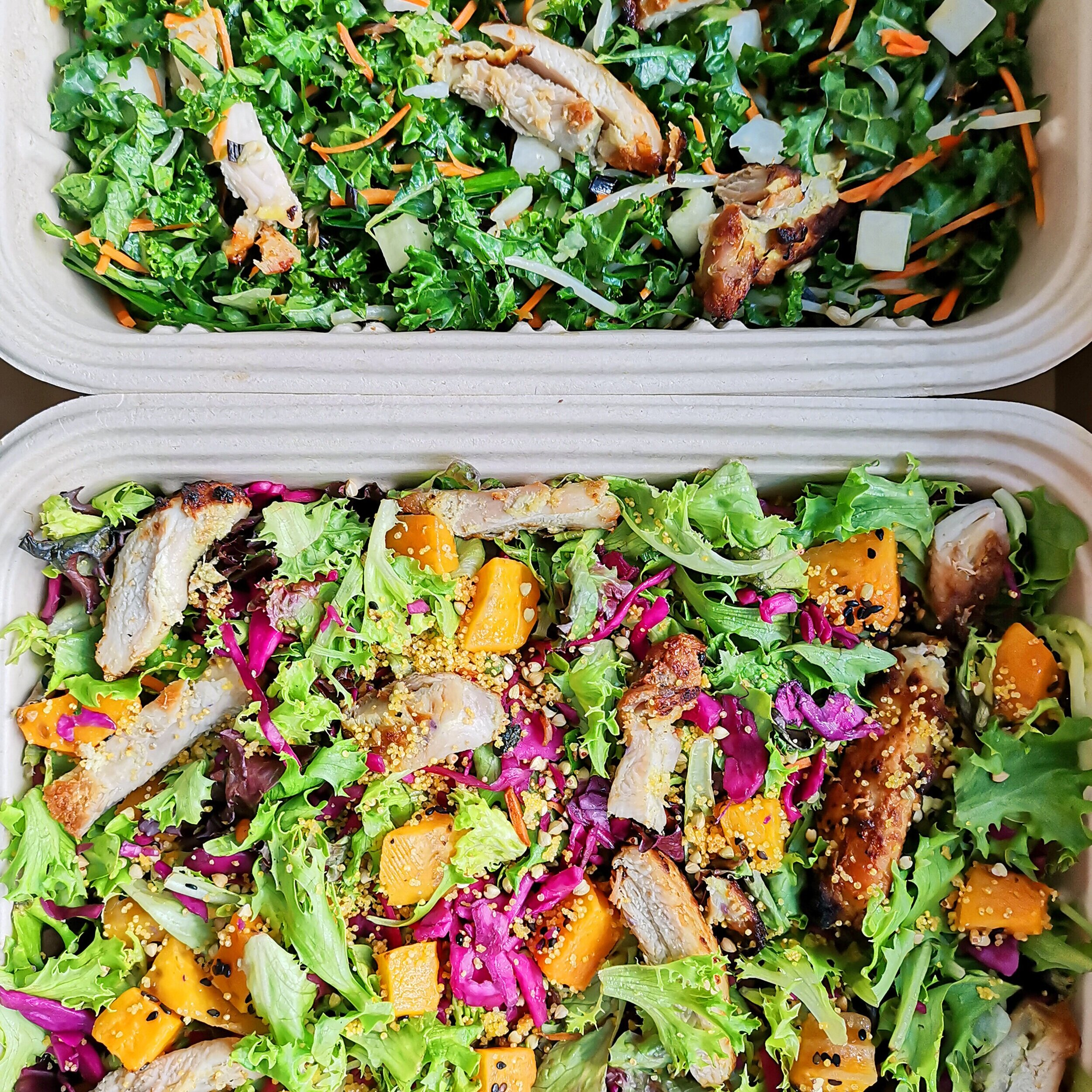 new squash & grain salad coming soon   order catering ⟶