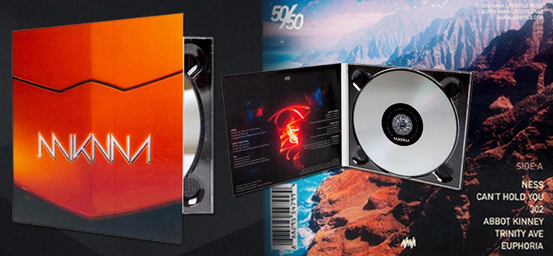 MIKNNA '50|50 (SIDE A)' CD