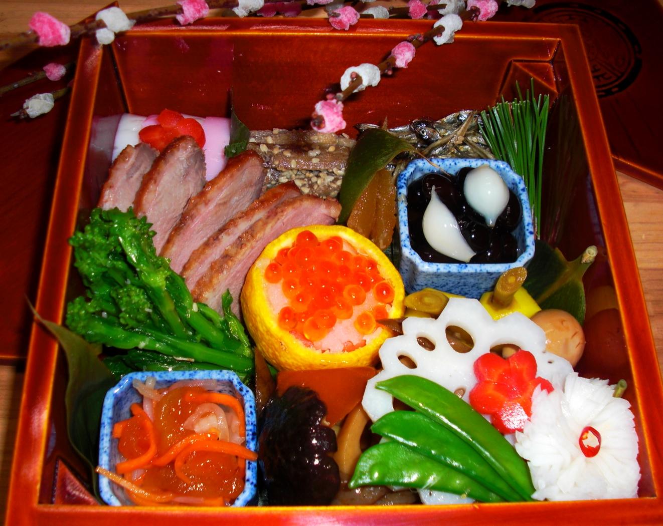 冬 osechi, traditional new year cooking.JPG