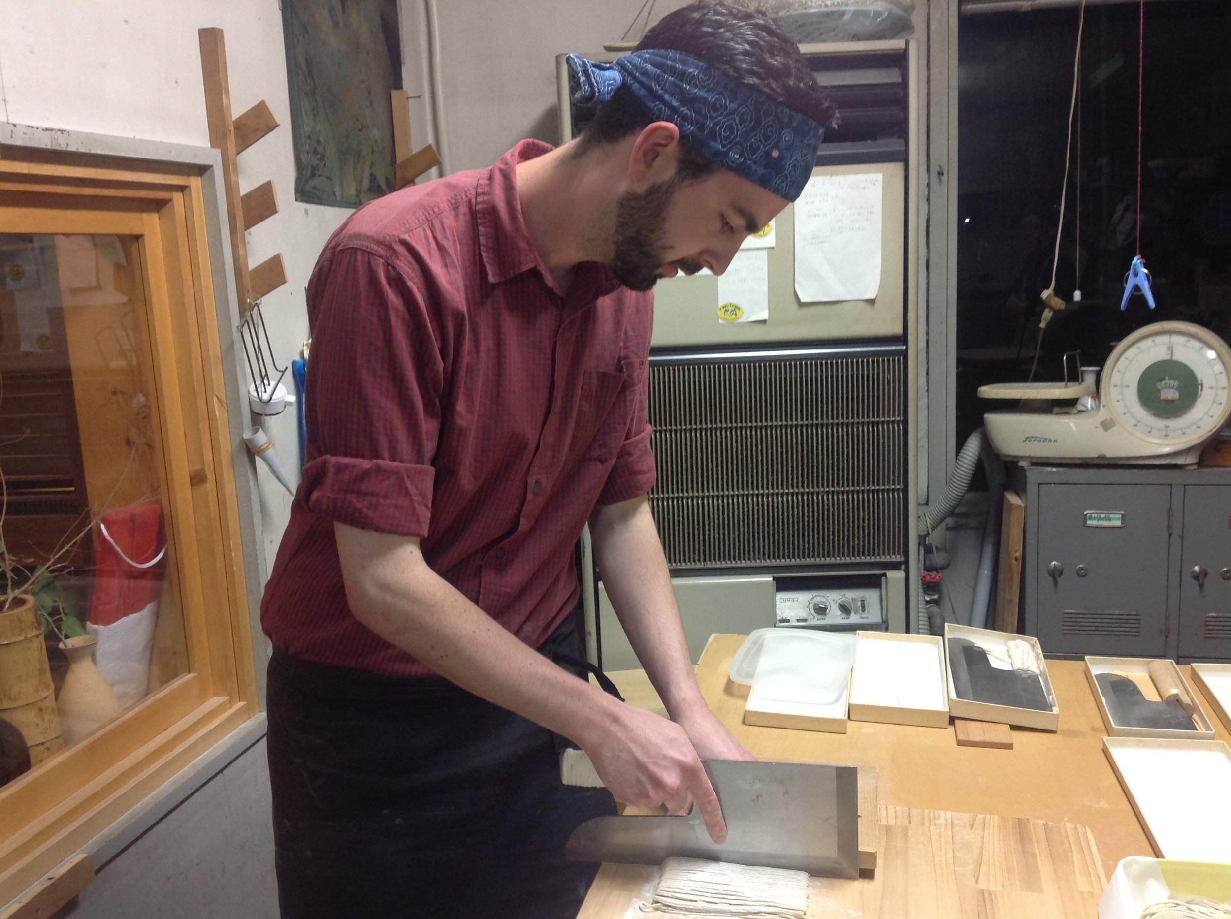 A German Chef Sebastian Sandor learns how to make soba noodles from scratch.