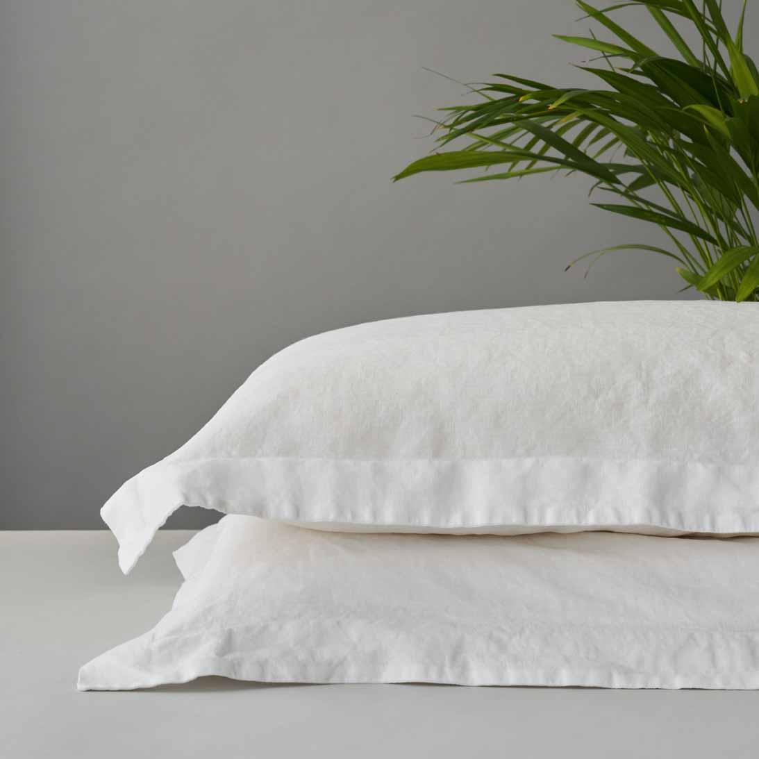 Organic Linen Pillow Cases