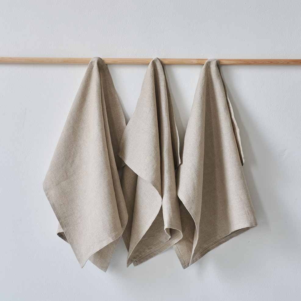 Organic Linen Tea Towels