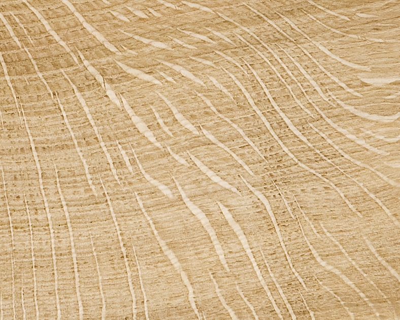 Hardwood: Quarter Sawn Oak