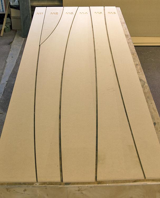 Panel door templates