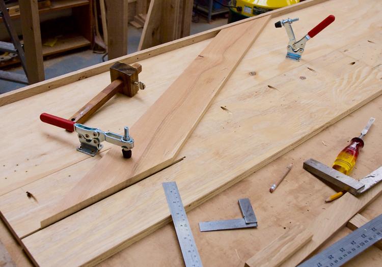 Cutting sledge