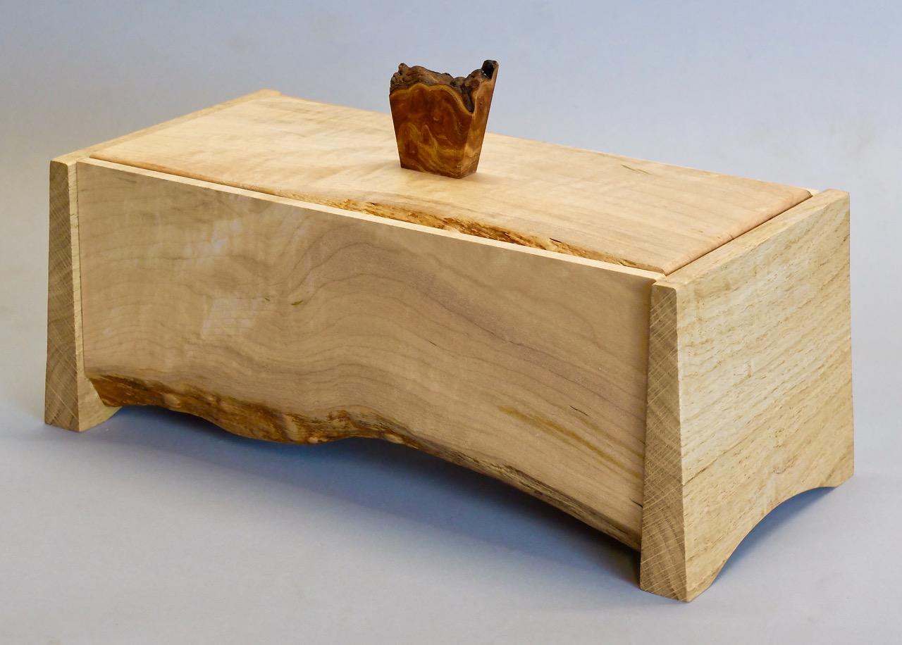 Natural Edge Jewellery Box